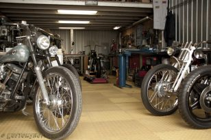Lucky Nuts Motorcycles Workshop